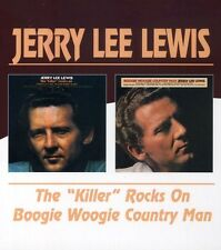 Killer Rocks On/Boogie Woogie Country Man - Jerry Lee Lewis (2004, CD NIEUW)