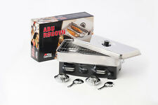 Abu Garcia Stainless Steel Fish Smoker / Cooker With 2 Burners - 1203514
