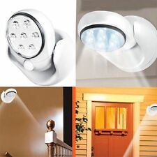 Adjustable LED Motion Light Activated Sensor Indoor Outdoor Cordless Patio