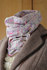 William Morris Scarf Liberty Of London Lodden in Pink