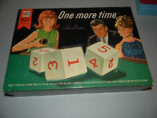 Milton Bradley ONE MORE TIME fine edition  GAME 1967