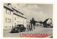 ANNI '50 DKW F89 3=6 FOTO ORIGINALE AUTO cm 7 x 10