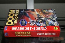 Doom Troopers (Sega Genesis, 1995) FACTORY SEALED! - EXCELLENT! - ULTRA RARE!