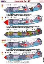 AML Models Decals 1/72 LAVOCHKIN La-5F SOVIET ACES with Resin Detail Set