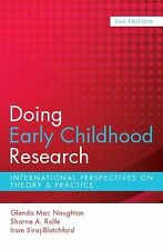 Doing Early Childhood Research by Iram Siraj-Blatchford, Sharne A. Rolfe and...