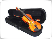 "Solid Wood 15"" viola+Bow+Rosin+Case+Free U.S Shipping"