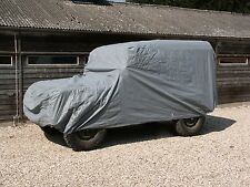 Land Rover 88/90 Car Cover Indoor/Shower Proof  Breathable Soft Lining & Straps