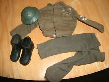 "VINTAGE 60`s BUNDLE ""ACTION MAN"" OFFICER JACKET,TROUSERS,HELMET & BOOTS"