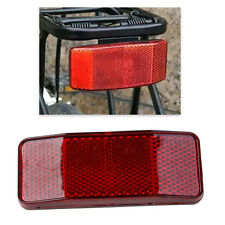 Road Bike Cycle Bicycle MTB Safety Warning Reflector Light Reflective Red Strips