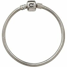 "AUTHENTIC CHAMILIA STERLING SILVER SNAKE BRACELET SNAP CLASP,6.7"" BA-1 NEW!"