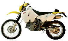 Suzuki DRZ400 E DRZ400E Safari 28L Long Range Fuel Tank Petrol Gas White