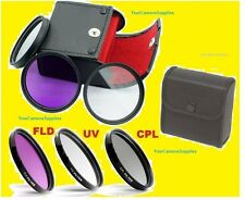FILTER KIT 40.5mm CPL FLD UV POLARIZED to SONY A6000 A5000 NEX-3N NEX-5 NEX-6