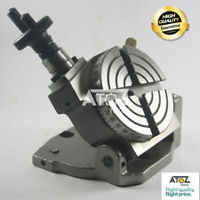 "3"" Tilting Rotary Table - Horizontal & Vertical High Precision Heavy Duty NEW"
