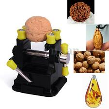 Mini Carving Clamp Drill Press Vice Clip Nut Walnut Olive Beads Gripper DIY Tool