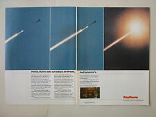 8-11/1989 PUB RAYTHEON PATRIOT ANTI TACTICAL SURFACE TO AIR MISSILE ORIGINAL AD