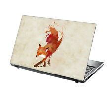 "15.6"" TaylorHe Laptop Vinyl Skin Sticker Decal Protection Cover Painted Fox RF06"
