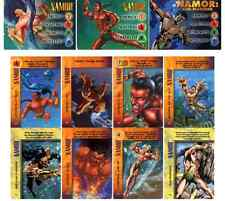NAMOR COMPLETE OVERPOWER SET (3 HEROES & 8 SPECIALS) IQ & POWERSURGE BEST PRICE!