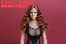 1/6 Scarlett Johansson Black Widow Head Sculpt For Phicen Hot Toys SHIP FROM USA