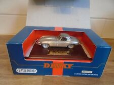 DINKY / MATCHBOX  - JAGUAR  E-TYPE - 1/43 SCALE PEWTER  MODEL - DY921
