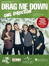 Drag Me Down Sheet Music Piano Vocal + audio online One Direction 000153644