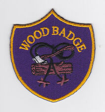 UK / BRITISH SCOUTS - Scout Leader / Commissioner Gilwell Woodbadge Emblem Patch