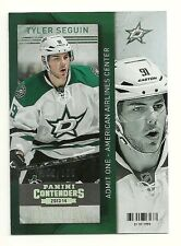 2013-14 Panini Contenders GOLD Parallel #56 TYLER SEGUIN Serial # 56/100