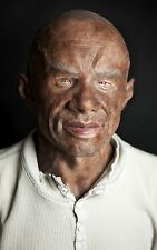 "Silicone Mask Black Man ""Tomas"" Hand Made, Halloween High Quality, Realistic,"