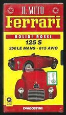 Il Mito Ferrari : 125 S, 250 Le Msans .. - videocassetta VHS ancora incelofanata