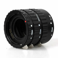 Macro AF Auto Focus Extension Tube Set for Canon EOS 760D 7D 6D 5Ds 5D Mark III