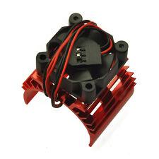 1/10 RC Car 540 Motor Upgrade Alloy heat With Fan Heatsink Cooler Rot