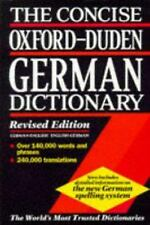 The Concise Oxford-Duden German Dictionary : English-German, German-English