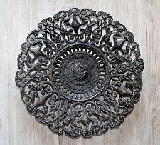antiguo por durchbrochener Placa de metal para 1900 decorativo