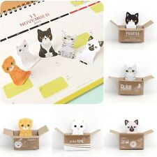 Cute Kitty House Sticky Notes Memo Pad Bookmark Index Post it Flag Tab Sticker