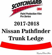 3M Scotchgard Paint Protection Film Pro Series Clear 2017 2018 Nissan Pathfinder