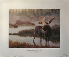 """""""MISTY MORNING MOOSE"""" by Jan Martin McGuire"""