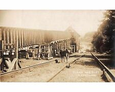 SJ379c: MORRIS CANAL PLANE 2 EAST At LEDGEWOOD NJ Harris RPPC Postcard c. 1910