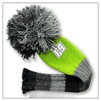 Flaming Golf POMPOM Fairway Wood Headcover - Green