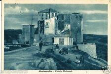 cm 065 1950 Montesarchio (Benevento) Castello Medioevale- viagg Ed. Dalla Nogara