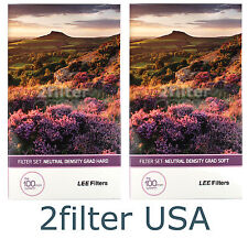 Lee Filters 100mm Soft and Hard Grad ND Sets 0.3, 0.6, 0.9 Grad Filters