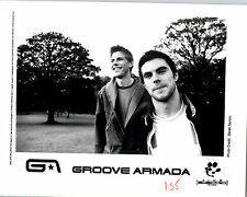 RARE Original Press Photo Groove Armada 90's English Electronic Music Duo