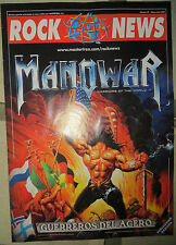 ROCK NEWS:N.29- MANOWAR-SOILWORK-ALEC EMPIRE-ETC...POSTER: PRIMAL FEAR
