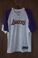 Rare Vintage Reebok Los Angeles Lakers Warm Up Shooting Jersey Mens M Kobe