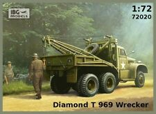 DIAMOND T-969 WRECKER TRUCK W/CRANE (CANADIAN MKGS - NORMANDY 1944) 1/72 IBG