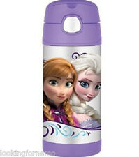 DISNEY FROZEN Thermos Bottle Kids12oz Insulated Funtainer Straw school bottle