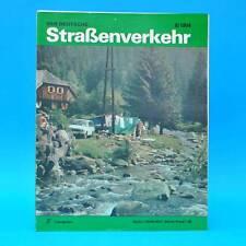 Der Deutsche Straßenverkehr 8/1984 Potsdam Citroen 2 CV Dvur Kralove Motorrad G