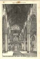 1902 Design For Completed Church St Cyprian St Marylebone