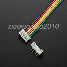 10 Sets PH 2.0mm JST 6P 6Pin Wire Female & Male Right Angle Plug 26AWG L:300mm
