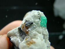 Emerald wth Parisite- Muzo Mine Colomiba, 55-13