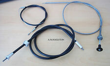 MORRIS MINOR CHOKE CABLE & THROTTLE CABLE & SPEEDO CABLE