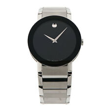Movado Sapphire Museum Watch 0606092 38mm MSRP $1795.00 Nice
